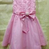 Бальное платье на 7-8 лет