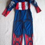 Костюм Капитан Америка, длина 98 см