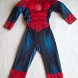 Маска и Комбинезон Человек Паук Spiderman, длина 90 см.