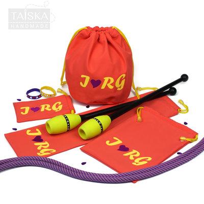 Набор чехлов для гимнастических предметов «Коралл. I RG»