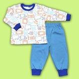 Легкая пижамка для мальчика Африка
