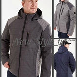 48-58 Новинка Мужская куртка демисезонная. Мужская куртка с капюшоном. Чоловіча куртка