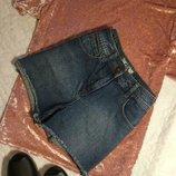 Шорты джинсовые винтаж от new look размер 8
