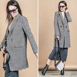 пальто клетка пальто кэжуал, пальто 2020