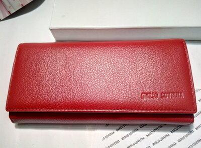 49243076890c Красный кошелек marco coverna кожа: 640 грн - кошельки в Сумах ...