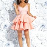 Шик Платье на бретелях, Размер 42,44,46.