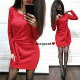Платье вязаное ангора,3 цвета