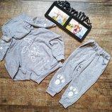 Стильные детские костюмы на 80-116см-цвета разные