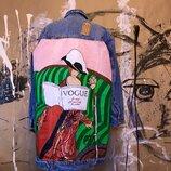 Ручная Роспись Джинсовка джинсовая Куртка Принт рисунок арт Роспись одежды