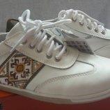 Кожаные кроссовки B&G размеры 34-39