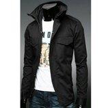 Мужская модная куртка коттоновая