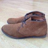 Замшевые ботинки Tailor 41 размера в идеальном состоянии