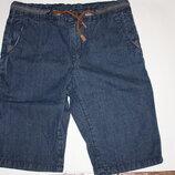 Джинсовые шорты ф.ZARA для мальчика 11/12 лет,р-152 в отличном состоянии