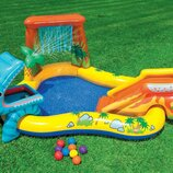 Водный игровой центр Dinosa ur Play Center бассейн