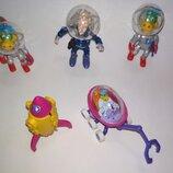 Цена за 5.Динозаврик дино растишка коллекционная фигурка игрушка,дракончик динозавр дракон космос