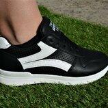 Модные женские кроссовки Nike найк черные с белой полоской