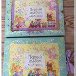Универсальный Альбом с Анкетой и Кармашками Ростомер. В Подарочной Коробочке. Фото на каждый месяц.