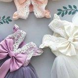 Детские нарядные выпускные пышные платья