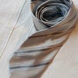 Hermes vip бренд оригинал дизайнерский шелковый галстук краватка, 100% шелк.