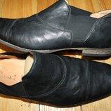 45 разм. Вечные туфли Think. Кожа высокого качества длина по внутренней стельке - 30 см., ширина по