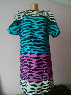 Стильное легкое яркое платье Qite Fashion размер L XL