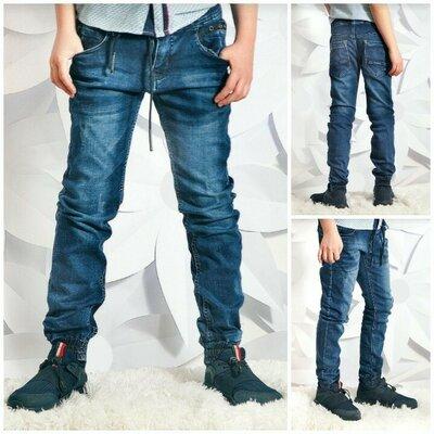Стильные джинсы джоггеры. Р-Ры 134,140,146,152,158,164. Новинка сезона