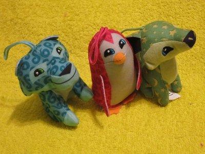 Пингвин,лиса.тигр.мягкая игрушка.мягкие игрушки.мягка іграшка.McDonald's
