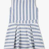 Новое нарядное платье с вырезом на спине р.128 коллекции Premium от C&A