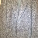 Шерстяной брендовый пиджак Career Club, р. 52