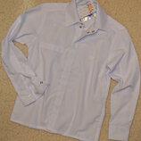 Рубашка детская, белая рубашка для дошкольников.рост 98-122