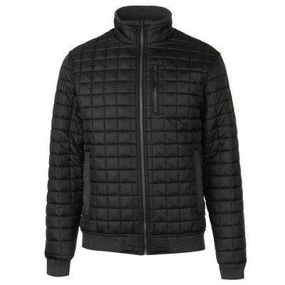 куртка Lee Cooper S, M весенняя стеганая куртка мужская черная