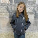 Куртка детская искусственная кожа