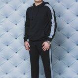 Мужской прогулочный костюм в черном цвете 44-58