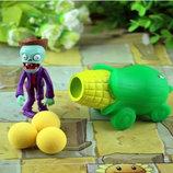 Растения против зомби   Plants vs Zombies Игровой набор 6 Растения стреляют шариками в зомби,есть