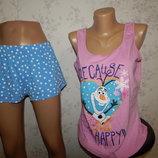 пижама трикотажная скомбинированная майка с шортиками р12-14 Disney