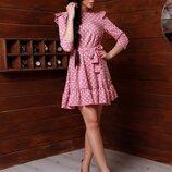 Платье 3 цвета 42-44 размеры