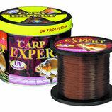Леска лот 1000м Carp Expert Brovn / коричневая