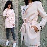 женское кашемировое пальто кардиган в разных цветах мг 5837