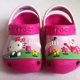Сабо crocs hello kitty