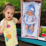 Кукла, пупс младенец, реборн, мальчик 42 см, 5115, 5115R, Бербесса, виниловый Juan