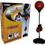Боксерская груша перчатки - тренажер для бокса Sport Toys Punching Ball детский
