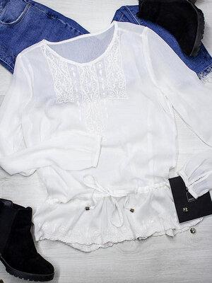 59d3a70d794 Біла блуза шифонова вишиванка