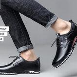 Мужские кожаные туфли PLAYBOY. Шикарное качество. Кожаная обувь класса Люкс.