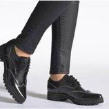 Туфли броги geox respira из натуральной кожи замши р. 35 36 37 38,5 39 40 41