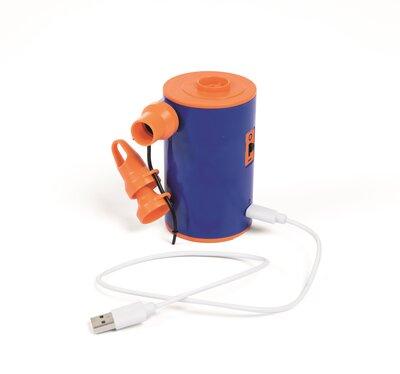 62101 BW Насос элетрический портативный на аккумуляторах, с зарядкой от USB, 3,7В