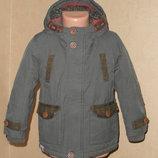 Куртка, парка демисезонная Next на 3-4 года в идеальном состоянии.