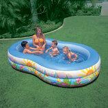 Детский бассейн 56490 Лагуна овальный