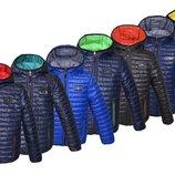 Двухсторонняя демисезонная куртка с покрытием лаке