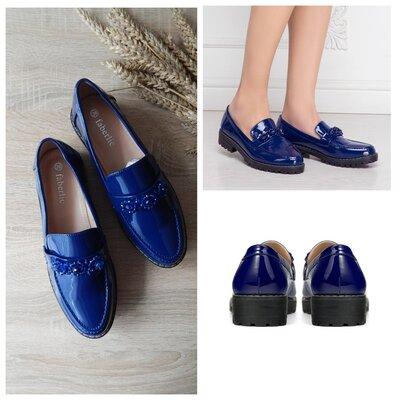 4639416f9 Удобные туфли, лоферы vivat синие faberlic: 650 грн - женские ...