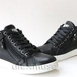 Стильные кожаные ботинки, Украина